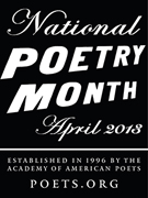 National Poetry Month 2013