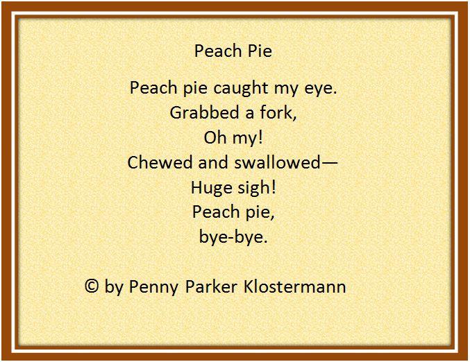 Peach pie pic