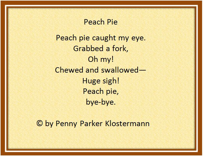 Peach pie pic