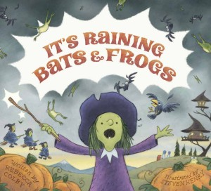 Bats and Frogs jacket copy