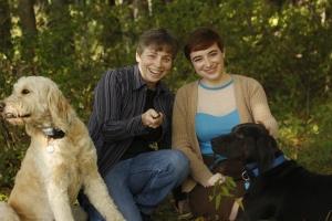 Buffy, Emma, dogs