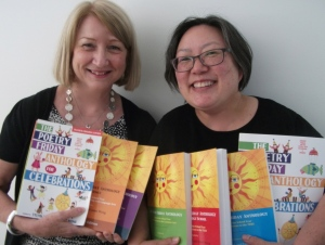 Janet and Sylvia ALL PFA books cropped copy