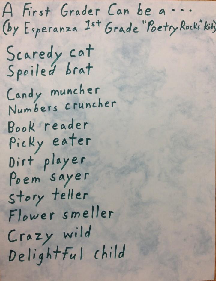 hand written poem